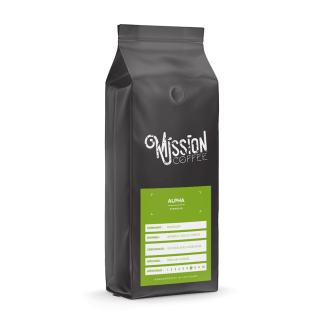 mission coffee kaffee alpha arabica