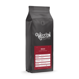 mission coffee kaffee sorte bravo