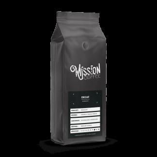 mission coffee productpicture coffee decaf arabica chocolate hazelnut