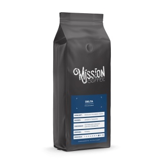 mission coffee kaffee delta arabica, robusta