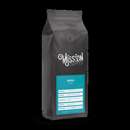 mission coffee produktbild sierra macadamia, karamell honig